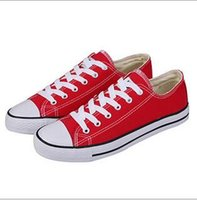 Wholesale HOT New big Size High top Casual Shoes Low top Style Classic Canvas Shoe Sneakers Classic Canvas Shoes