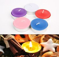 Wholesale Birthday candles kraft paper manually set figure tea candle wax process