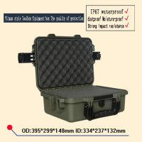 Wholesale Dust box waterproof seal equipment case mm safety Instrument case Seal toolbox with pre cut foam liningsafety