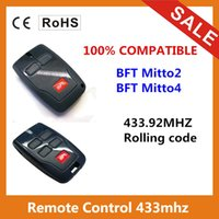 al por mayor código variable de control remoto-Venta al por mayor-Venta caliente compatible BFT 433Mhz Rolling código de control remoto con 2 botón / 4 botón