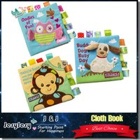 baby christmas books - Animal Style Baby Pram Book Toys Infant Kids Early Educational Development Cloth Books Learning Unfolding Activity Books