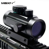 Wholesale x40 Red Dot RifleScope Sight with mm mm Picatinny Weaver Rail Mount of Hunting Scopes for Rifle and Glock O