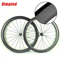 Wholesale mm mm mm dimpled C clincher Tubular wheelset full carbon wheels v brake mm width road bike wheels