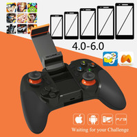 Wholesale Wireless Bluetooth Gamepad Joypad Game Handle Controller for iOS Android Smartphone Tablet PC D VR Remote Controller Vibration
