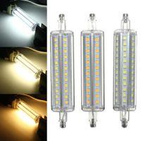 Dimmable r7s conduit 10W 118mm 360 degrés 5W 78mm lampadas led ampoule r7s 12W 135mm 15W 189mm remplacer la lampe de la lampe halogène 25mm de diamètre MYY
