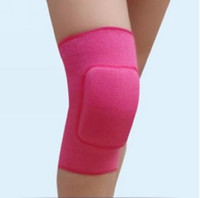 Wholesale Women Kids Knee Support Baby Crawling Safety Dance Volleyball Tennis Knee Pads Sport Gym Kneepads Children Knee Support L0018