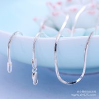Wholesale The new sterling silver jewelry silver Italy Quartet jadoku technology with and retail chain and chain