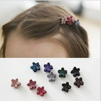 Wholesale 2017 The new children s hair headdress hairpin frosted retro baby small grip girl Liu Haijia