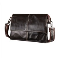 Cheap Cowhide Leather Messenger Bag Mens | Free Shipping Cowhide ...