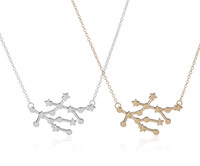 astrology gemini zodiac - New Trendy Gemini Zodiac Signs Astrology Necklace Constellation Pendant Necklaces for Women Star Sign Party Necklace N166
