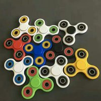 Wholesale EDC Fidget Spinner toy finger spinner toy Hand tri spinner HandSpinner EDC Toy For Decompression Anxiety Toys