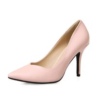 Wholesale Top Quality Women High Heels Pointed Toe Pumps Party Wedding Shoes Lady Stiletto High Heel Pump Patent Leather
