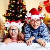Wholesale 2016 New design Christmas Gift Children Glasses Frame Christmas Decoration Glasses in stock