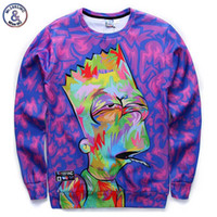animations funny - Mr INC New arrivals men boy cartoon d sweatshirts funny print animation character casual hoodies autumn tops