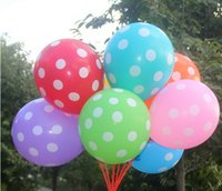 Wholesale High quality inch Point Balloons Girl Boy Printed Party Decoration pack