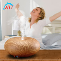 baby rooms - Essential oil Diffuser aromatherapy Humidifier Aroma Diffuser Dry Protect Ultrasonic diffuser for Yoga Office Bedroom Baby Room