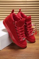 arena rubber boots - With Box Fashion Style Men BL Arena Trainers Snake Leather High Top Sneakers Boots Casual Shoes Outdoor Walking Flat Party Shoes