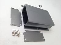 aluminium extrusion enclosure - Whole sale Low price aluminium profiles for differen Aluminum enclosures Length Aluminum box Aluminum Extrusion Box