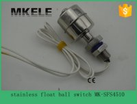 -20° to 160° 73 psi MK-SFS4510 Wholesale- 220V Mini stainless steel control magnetic waterproof float switch MK-SFS4510