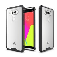 Wholesale Transparent Air Hybrid Armor Cover For Iphone s Plus LG V20 Google Pixel XL Soft TPU PC Back Cover With OPPBAG