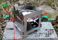 Wholesale Samll Alcohol stove small portable outdoor wood stove furnace stove Alcohol furnace and furnac