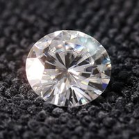 Wholesale Queen Brilliance Price ct mm F Color Round Cut Lab Grown Loose Moissanite Diamond Test Positive ccp