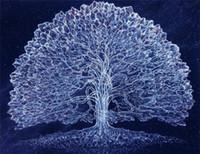 al por mayor kit de resina pintada-5D costura Diy diamante pintura cruz puntada kits completa resina cuadrada diamante bordado Mosaico Decoración casa árbol zf0116