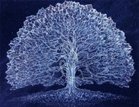 Wholesale 5D needlework Diy diamond painting cross stitch kits full resin square diamond embroidery Mosaic Home Decor scenery tree zf0116