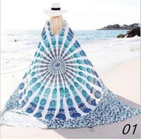 Checked active stickers - Shawl Bohemian Mandala Beach Towel cm Tapestry Yoga Mat European style Carpets Polyester Tapestries Bath Towels Fashion Wall Stickers