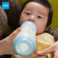 Wholesale MAM Anti Colic newborn Baby Milk Bottle child Feeding ml oz ml oz packing child nurse bottle PP Material