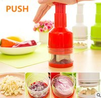 Wholesale New Arrived Kitchen manual gadgets Onion chopper Garlic press Wipe the ginger of colors