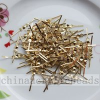 Wholesale Silver Gold MM Chandelier Bead Prism Bowtie Pin Crystal Connector