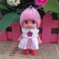 baby horse costume - 8 cm gold silk fluffy clown doll Creative gifts hot style doll confused baby doll