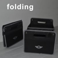 Wholesale high quality car storage box auto trunk organizer oxford folding bag stowing toy tool food collapsible mini cooper clubman countryman