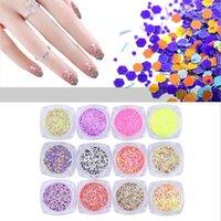art hexagon glitter - 3D Mix Color Nail Art Hexagon Glitter Ultrathin Nail Sequins Sheets Tips Gillter D Nail Art Decoration
