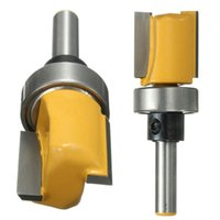 Wholesale 1 Inch Shank Inch W x Inch H Hinge Mortise Template Router Bit For Solid Wood Cutter Tool