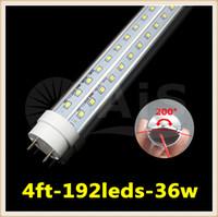 Wholesale LED tube light lamp Leds fluorescent cooler lights SMD led T8 G13 mm m ft lm W High Power