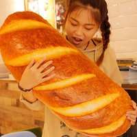 baguette french bread - 2017 High quality cm Large Soft Simulated Bread Plush Pillow Big Stuffed French Baguette Toy Doll Nice Child Gift