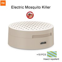 Wholesale Original Xiaomi Electric Mosquito Killer Portable Mini Night Repeller Killing Fly Bug Insect Night Killer Zapper for Camping
