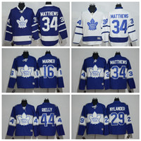 Wholesale Men s Toronto Maple Leafs Auston Matthews Blue Centennial Classic Premier Player Jersey for Men Blue White Marner Available