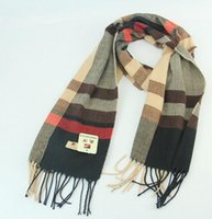Wholesale Autumn winter Fashion women and men Ring style scarf have styles keep warm cm plaid