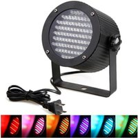 Wholesale EU US Professional LED Stage Light RGB LED Light DMX Lighting Laser Projector Stage Party Show Disco