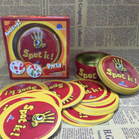 basketball party games - Spot It game Family Party Card Game Funny Family Cards Games popular card Game funny Board Game Trading Card Games christma gift