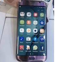 Android couleur email Prix-Couleur rose Unlocked Goophone S7 bord téléphone intelligent 5,5 pouces 1GB / 8GB quad-core MTK6580 Andrews 6 gousses coloré téléphone DHL libre pk s8 bord téléphone