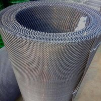 Wholesale 15 mBlack Woven Wire Standarded Plain Woven Wire Mesh High Quality Screen Knitted Wire Screen for Decorative and Functional Application