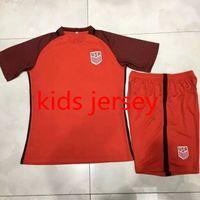 Wholesale New usa kids Jersey DEMPSEY red away boys camisetas de futbol DONOVAN BRADLEY ALTIDORE America child youth Shirt