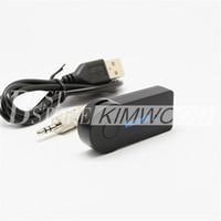 achat en gros de la musique à la maison-Récepteur Bluetooth Mini voiture sans fil 3,5 mm Adaptateur audio stéréo Récepteur pour voiture AUX IN Accueil Haut-parleur MP3 avec emballage de détail