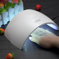 Wholesale New SUN9c W USB LED Lamp Nail Dryer UV Nail Lamp Double Light Lamp for Nails UV Gel Polish Nail Art Tools