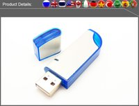 Wholesale Factory full capacity USB Flash Drives GB GB GB GB Memory Stick USB Flash Drive high quality chip plastic