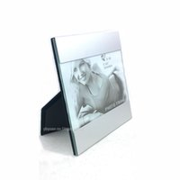 aluminium picture frame - 5 Inch Tabletop Photo Frame Desktop Ornament Aluminium Alloy Frame Modern Picture Frame For Office Room Decoration